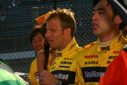 Les vainqueurs GT500, Ronnie Quintarelli et Naoki Yokomizo