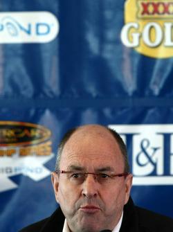 Press conference, V8 Supercars CEO: V8 Supercars chairman Tony Cochrane