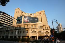 Lewis Hamilton, McLaren Mercedes on billboards around singapore