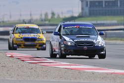 #111 ICY/ Phoenix Racing Subaru Legacy: Kristian Skavnes, Andrew Aquilante