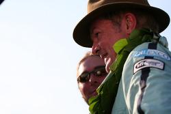 Tourist Trophy race podium: Antony Reid