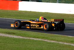 Pace lap: Gary Woodcock (GB) WB Racing, F1 Arrows A22 Hart 3.0 V10