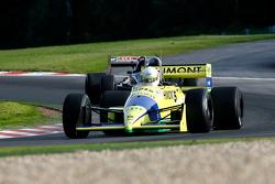 #31 Henk De Boer (NL) Racing for Business, F1 Coloni FC188 Cosworth 3.5 V8, and #30 Christian Van Hee (NL) Brett Racing Team, F1 Lola SR27 Cosworth 3.5 V8