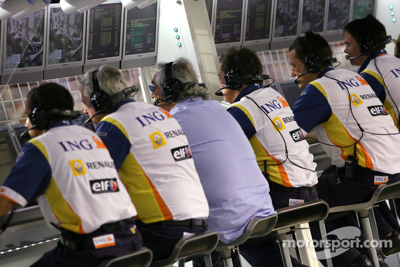Kommandostand: Renault F1 Team