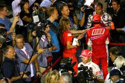 Lewis Hamilton, McLaren Mercedes, Felipe Massa, Scuderia Ferrari