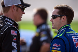 Clint Bowyer and Casey Mears