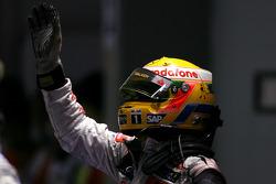 Third place Lewis Hamilton