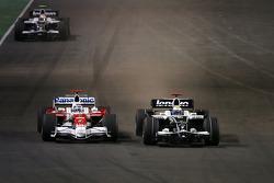 Jarno Trulli, Toyota F1 Team, Nico Rosberg, Williams F1 Team