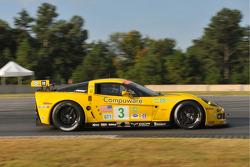 #3 Corvette Racing Chevrolet Corvette C6-R: Johnny O'Connell, Jan Magnussen, Ron Fellows
