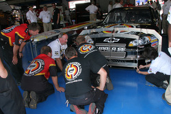 Miccosukee Chevy at tech inspection
