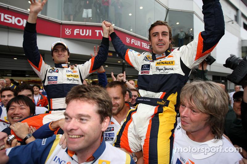 Остання перемога Renault сталася у підніжжя вулкану Фудзі. Піке фінішував четвертим