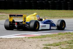 Peter Milavec, GP Racing, F1 Lola T92/50 Cosworth 3.5 V8