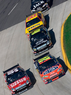 Carl Edwards, Jeff Gordon, Greg Biffle and Kevin Harvick