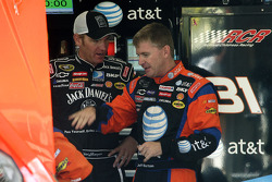 Jeff Burton and Clint Bowyer
