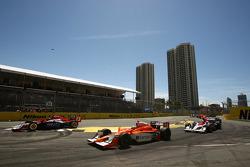 Race start: Jaime Camara (Conquest Racing)