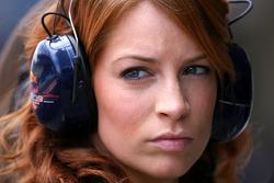 Red Bull Racing girl