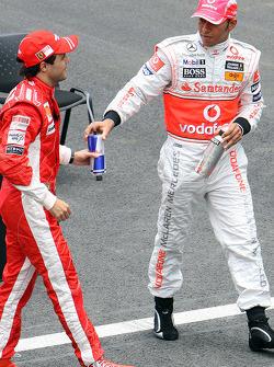 Felipe Massa e Lewis Hamilton