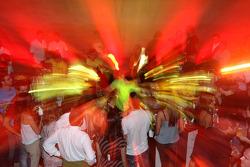 End of season party, Memorial da America Latina: guests