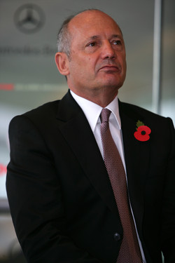 McLaren Group chairman Ron Dennis