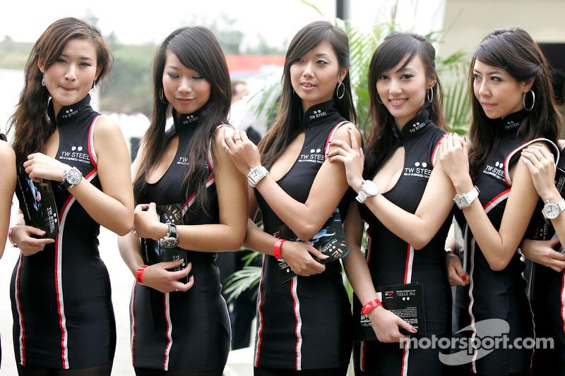 TW steel girls at Chengdu