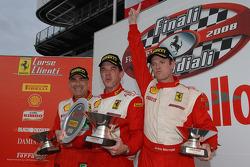 Friday race: USA podium