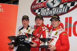Saturday race: Coppa Shell podium