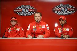 Press conference: Kimi Raikkonen, Stefano Domenicali and Felipe Massa