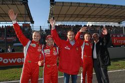 Gianmaria Bruni, Thomas Biagi, Amato Ferrari, Toni Vilander ve Guiseppe Risi
