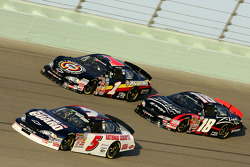 Dale Earnhardt Jr. races Kyle Busch