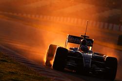Nico Hulkenberg, Test Driver, WilliamsF1 Team, interim 2009 car