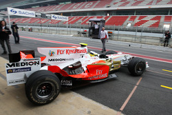 Pedro de la Rosa, Tests out the Force India F1 Team