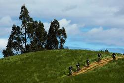 Launceston, Australia: competitors in action