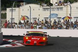 #55 CR Scuderia Ferrari F430: Chris Niarchos, Tim Mullen