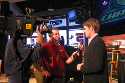 NASCAR Nationwide Series runner-up Carl Edwards Friday at the ESPN Club at Walt Disney World