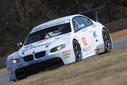 l'équipe BMW Rahal Letterman fait des tests : Andy Priaulx teste la BMW Rahal Letterman conduisant la BMW M4