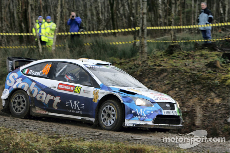 Valentino Rossi, Carlo Cassina, Stobart VK M-Sport Ford Rally Team, Ford Focus RS WRC