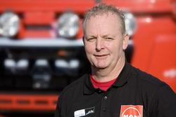 MAN Rally Team: Geert Verhoeven, driver truck 3