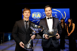 FIA World Rally champion Sébastien Loeb, FIA World Touring Car champion Yvan Muller
