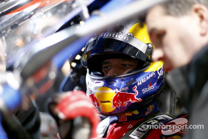 Sébastien Loeb, in cockpit