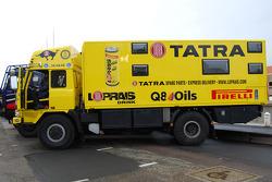 Loprais Tatra Team presentation: the Tatra race truck