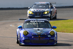 #68 TRG Porsche GT3: Josemanuel Gutierrez, Steve Miller, Chris Pallis, #57 Stevenson Motorsports Pontiac GXP.R: Jeff Bucknum, Andrew Davis, Robin Liddell