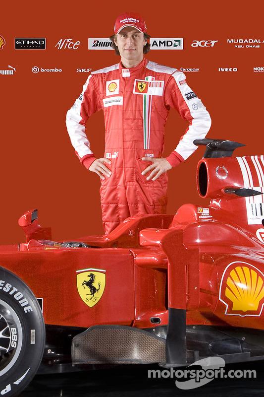Luca Badoer und Ferrari F60