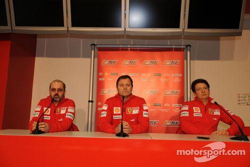 Présentation de la Ferrari F60 à Maranello