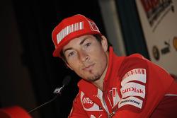 Conferencia de prensa: Nicky Hayden, Ducati