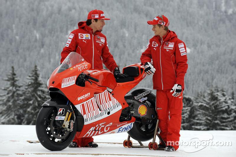 2009. Casey Stoner et Nicky Hayden