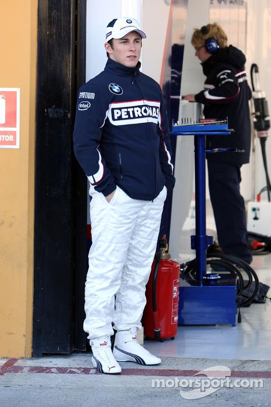 Testfahrer Christian Klien, BMW Sauber F1 Team