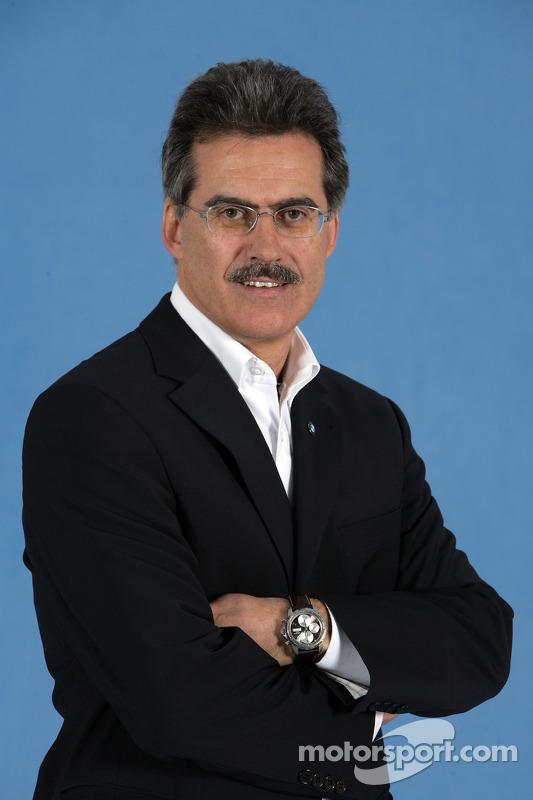 Dr. Mario Theissen, BMW-Motorsportdirektor