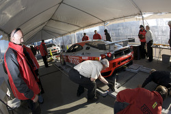 #56 Mastercar-Coast 2 Costa Racing Ferrari 430 Challenge at technical inspection