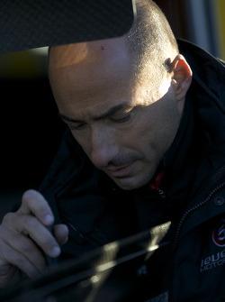 Level 5 Motorsports team member at work