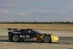 #28 LG Motorsports Chevrolet Riley Corvette C6: Lou Gigliotti, Tomy Drissi, Randy Ruhlman, Marc Goossens